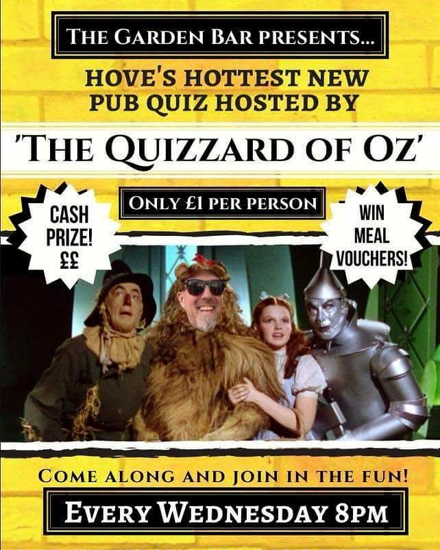 Quizzard of Oz poster