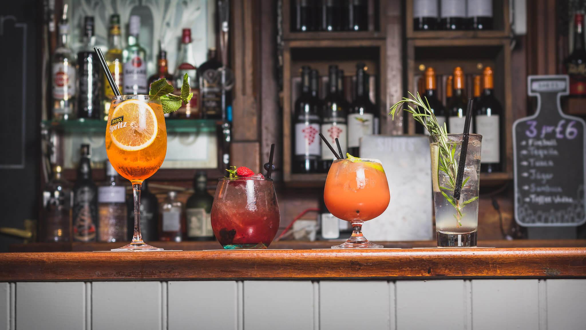 The Garden Bar Drinks