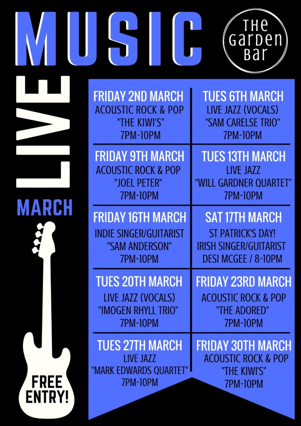 Live Music March