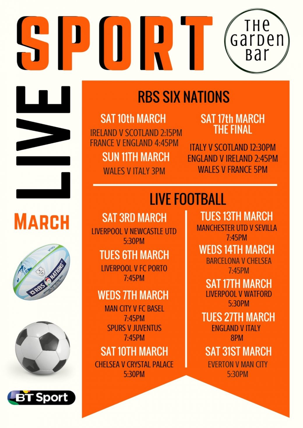 Live Sport March